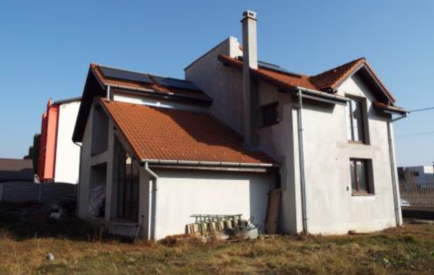 Casa parter+mansarda si teren